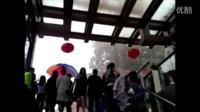 暴雨袭击丽江,暴雨中的众生百态