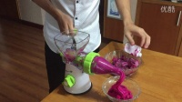 手动榨汁冰淇淋机-火龙果