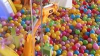 视频: 科瑞特工程乐园 科瑞特儿童挖掘机 投币游戏机 投币吊装机