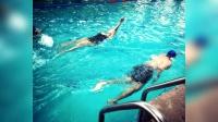 八卦:章子怡生完娃上围猛涨 水中训练事业线超抢镜