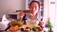 方方-自制拌面内蒙古处女座的吃货中国吃播国方方投稿吃出个未来·吃饭直播