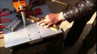 画框钉角机商家5 梨树县新一代十字绣框组角机 拼角机器最低多少钱