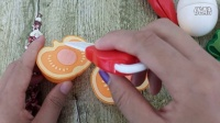 亲子小游戏切水果玩具视频