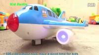 飞燕传媒 玩具车王国 自动升降飞机玩具 玩具总动员 赛车总动员 儿童玩具 玩具试玩 552