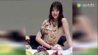 东莞美女人体盛宴 模特身画水果遮体_标清