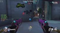 守望先锋玩家遭遇自动瞄准队伍 录像还原准心跟踪