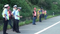 中交一公局柳南高速改扩建6标交通事故应急演练