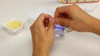 日本食玩 水果奶油布丁制作 樱桃果冻 香草奶油