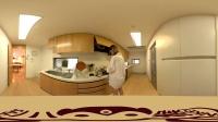 [VR视频 360度全景视频内容]天海翼的爱心早餐