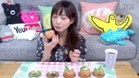大胃王  木下佑香  一頓吃掉  【お取り寄せ】在樂天購買的  果子工坊 軟乎乎的烤蘋果麵包餡餅5個!