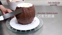 巧克力椰子蛋糕