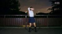 日本美少女,夜景舞蹈【制服】