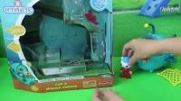 玩具总动员 巴克队长的灯笼捕鱼艇 海底小纵队玩具拆箱试玩