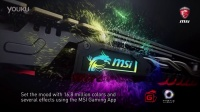 微星新一代GAMING显卡的RGB龙魂信仰灯酷炫登场
