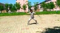 中国健身鞭李懿龙  营口市健身鞭子队队长套路练习