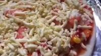 鲜虾玉米洋葱披萨