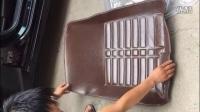 全包围汽车脚垫安装方法