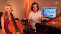 2016 Yanni and Sarah O~Brien working on With An Orchid