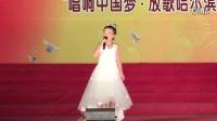 大地飞歌     演唱:谢雅竹   选送单位:玫瑰园钢琴声乐学校    指导教师:王颖妲