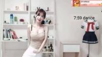 160719 熊猫tv韩国美女主播 跳舞剪辑直播回放