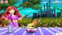 芭比之歌星公主 公主制作城堡蛋糕
