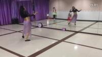 莱丽肚皮舞habbibi  肚皮舞初级入门教学舞蹈背面视频