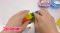 韩国魔法变色DIY冷冻布丁啫喱制作 143