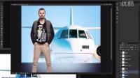 ps教程ps实例教程Photoshop教程ps抠图教程ps图片合成ps调色ps淘宝美工休闲男装海报设计