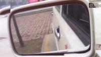 倒车入库实际操作皮卡车坡道定点停车怎么看点科目二如何调整后视镜