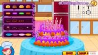 芭比做蛋糕小游戏 芭比做蛋糕小游戏大全 我爱做蛋糕