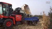 久保田玉米收割机收获效果视频 青州市强龙机械