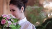 林心如霍建华婚礼 林心如婚纱照拍摄的太美了
