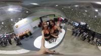 360 vr 全景 虚拟现实 2016韩国跑车车展 看完才知道美女如云是什么意思!车最好的车 妞也是爆索 !