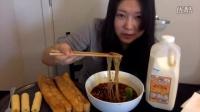 M吃播酸辣粉油条豆浆玉米卷
