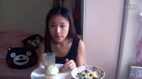日食记为什么又是早饭6个菜包酸奶蓝莓玉米麦片鸡蛋咖啡哈哈哈