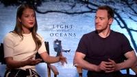 优酷全娱乐 2016 7月 低调情侣法鲨 艾丽西娅·维坎德 合拍《大洋之间的灯光》入围威尼斯 160729