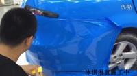 马自达6冰淇淋蓝全车贴膜效果郑州汽车改色店车衣裳河南省代