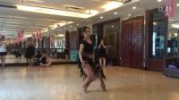 拉丁舞院士陈珍莉老师恰恰舞小套路(女生步)