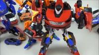 汽车玩具变形金刚机器人汽车玩具布丁