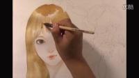 水彩人物插画——简熹手绘