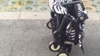 丹舒尔童车折叠和打开视频
