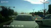 粤S4877H 实线变道,故意急刹,致后车追尾。然后打砸车辆,打人,最后调头逆线行驶,疯狂撞后车。