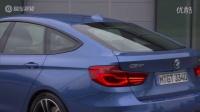 实拍新款宝马3系GT外观 无框车门设计