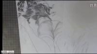 【设计狮帝国】日式漫画人物素描手绘教程 绅士向远坂凛