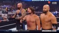 WWE2016年8月10日RAW中文解说最新一期SD布洛克莱斯