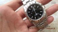 卡地亚 伯爵 格拉苏蒂 帕玛强尼 劳力士探险家型系列214270-77200 黑盘腕表