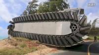 【爱笛笙】美国新型坦克 这个大家伙可不简单 水陆通用 就差会飞了