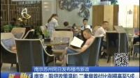 南京苏州同日发布楼市新政   160811  新财经