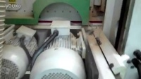 锐亚木工机械REIGNMAC双端铣RMM8025M加工玻璃木门(沈阳中意集团)