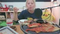 【英文吃播】Keemi之烤泡菜五花肉篇